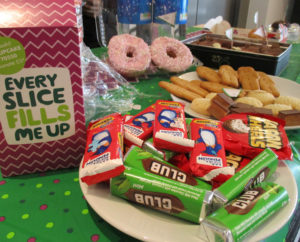 Travel & Transport Level 2 students host bun and juice marathon event in aid of Macmillan Cancer Research