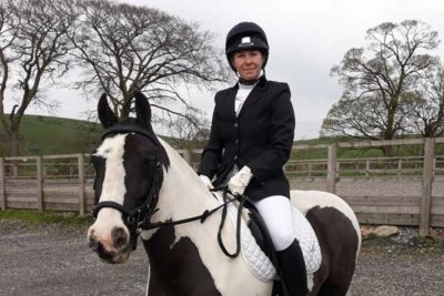 webjenny 400x267 - Horse Jack Does College Proud at Dressage Competition