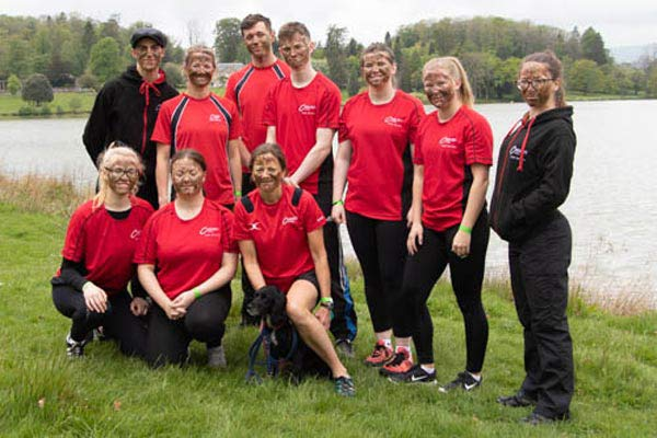 WEBCraven Crew - Public Services Students Take Part in Dragon Boat Race