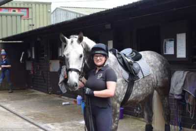 DSC 6267 1 400x267 - Equine Student Spurred On By New Job