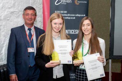 Rebecca Nicholas Chloe Green 400x267 - Apprenticeship Awards 2019