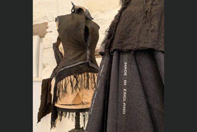 SWelington1 400x267 - Ex Fashion Student Exhibits with Tutor