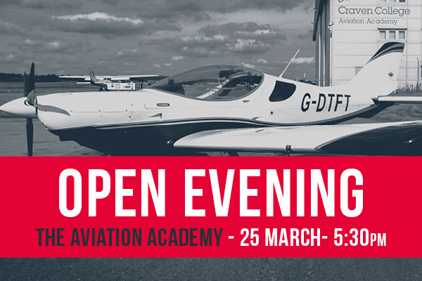 EVENTS 2019 all sizes28 - Open Evening - Aviation Academy