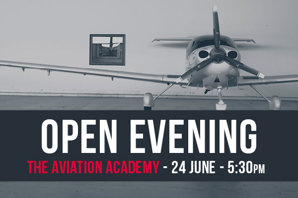 EVENTS 2019 all sizes34 - Open Evening - Aviation Academy
