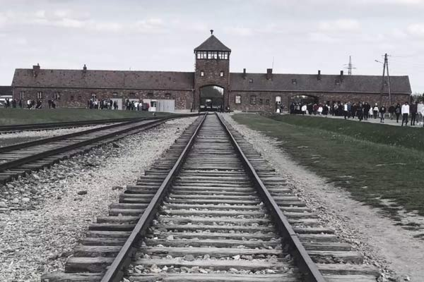 Students visit Auschwitz with the Holocaust Educational Trust