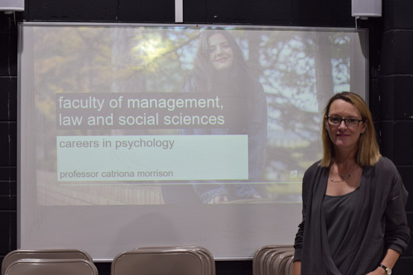 Psychology Talk Inspires Students