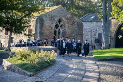 WEB procession start 2 400x267 - Graduation 2019 alt