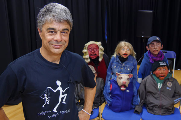 Visit from Routes Puppets