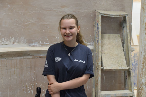Plastering Student Competing to be Crowned the Best in the UK at WorldSkills