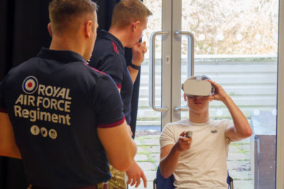 WEB P1580608 400x267 - Visit from the RAF & Royal Marines