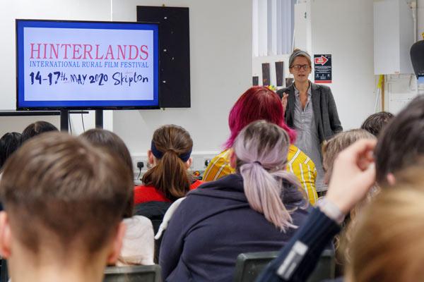 Hinterlands Film Festival Promotion At Craven College