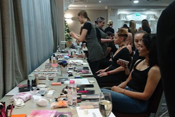 Fashion Fiesta for Media Make-up Students