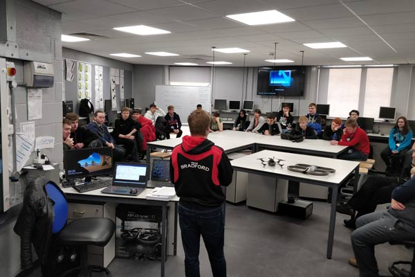 Computing Students Hack into a Drone