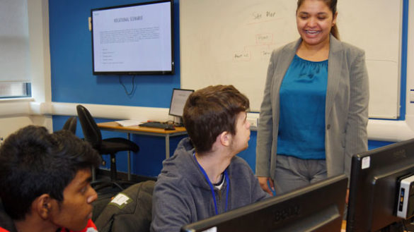 Computing Students Employed as Junior Web Developers -