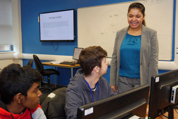 Computing Students Employed as Junior Web Developers