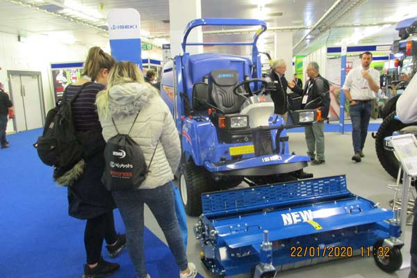 Countryside Visit to Leading Turf Management Exhibition -
