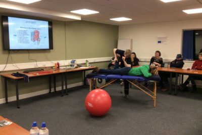 WEB IMG 3983 400x267 - Physiotherapist Lecture with Sarah Rennison