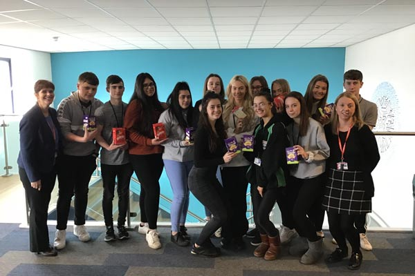 Business Students Celebrate Exam Success
