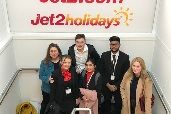 Work Experience with Jet2