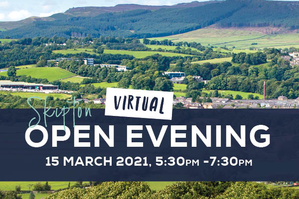 Virtual Open Evening – Skipton - 89421