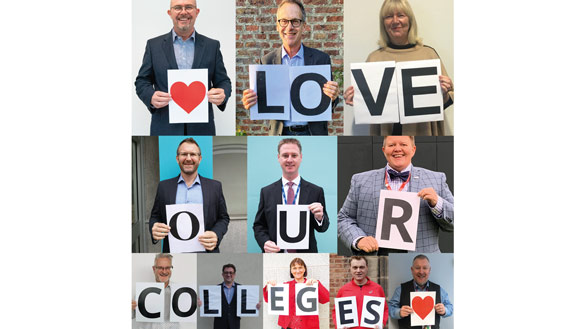 Principals line up to shout about Colleges Week 2020 -