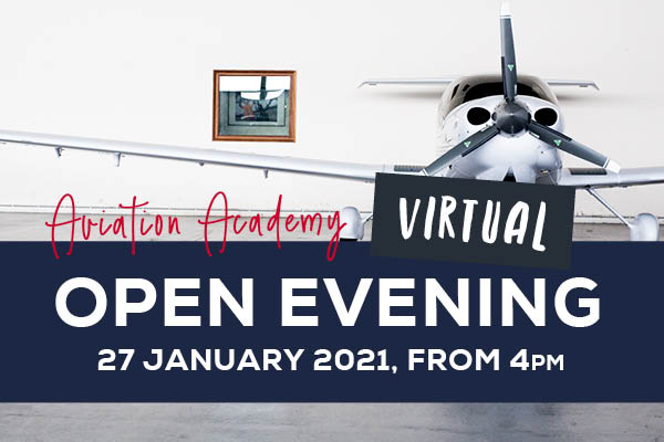 VIRTUAL Open Evening – Aviation Academy - 89398