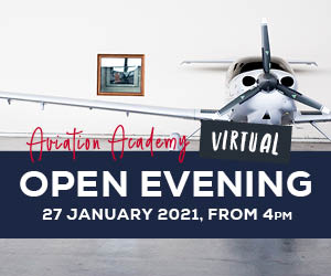 VIRTUAL Open Evening – Aviation Academy89398