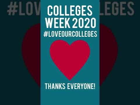 Thanks for a Great Colleges Week #loveourcolleges