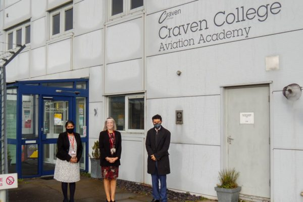 Alex Sobel MP at The Aviation Academy – Watch the video