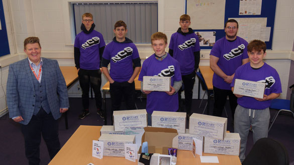 Craven College Students Help the Homeless - 91011