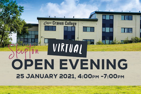 VIRTUAL Open Evening – Skipton - 89395