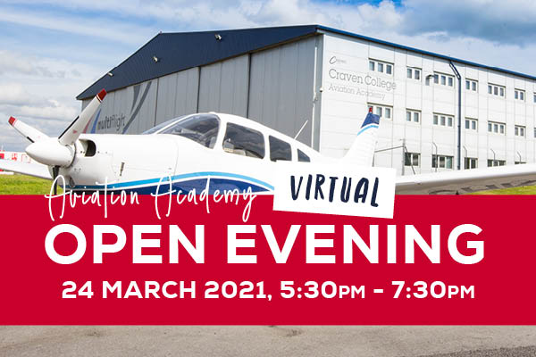 Virtual Open Evening – Aviation Academy - 89423