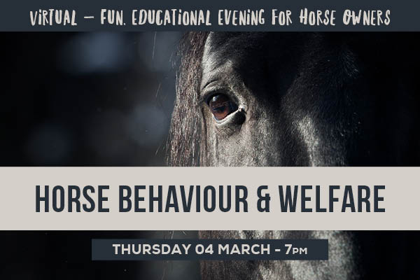 Horse Behaviour & Welfare - 92050