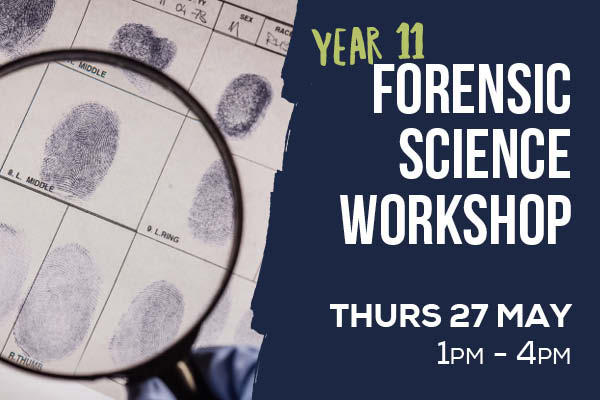 Yr 11 Forensic Science Workshop - 93257