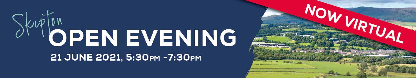 VIRTUAL Open Evening – Skipton 89432