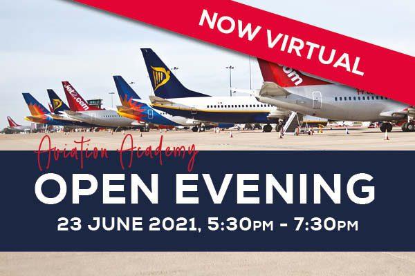 VIRTUAL Open Evening – Aviation Academy - 89434