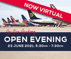 VIRTUAL Open Evening – Aviation Academy89434