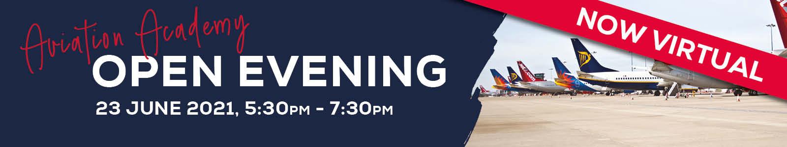 VIRTUAL Open Evening – Aviation Academy 89434