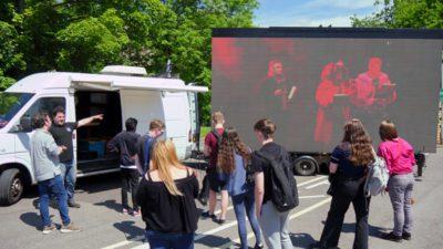 Web P1980103 400x225 - Media Students Prepare for Gateways Festival alt