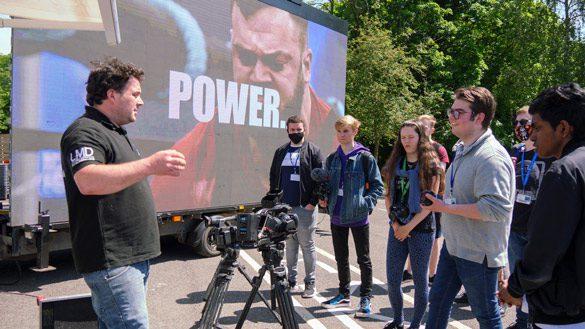 Media Students Prepare for Gateways Festival - 94160