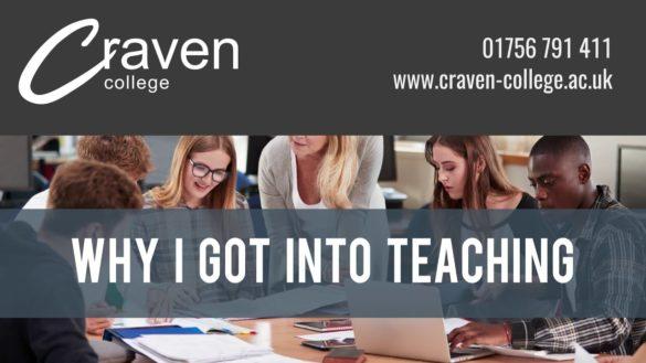 Why I Got into Teaching - 94188