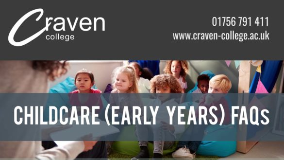 Childcare (Early Years) for School Leavers FAQs - 94824