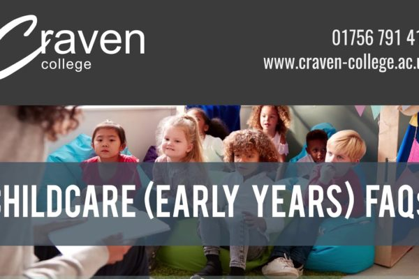 Childcare (Early Years) for School Leavers FAQs