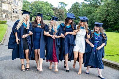 Female group of graduates 400x267 - Craven College celebrates its graduates' success alt