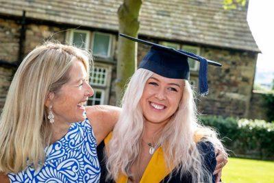 Female student celebrating with mum 400x267 - Craven College celebrates its graduates' success alt