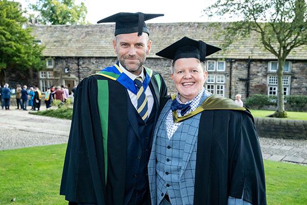 Guest Speaker Andy Pickles and Principal Lindsey Johnson - Craven College celebrates its graduates' success alt